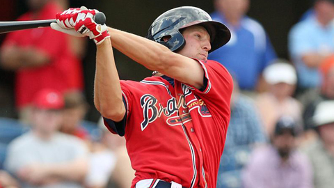 Kyle Kubitza has four of the Braves' seven home runs so far.