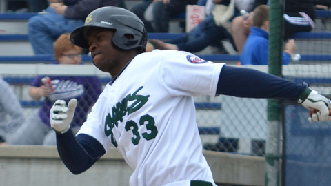 Miguel Sano leads the Midwest League with 28 RBIs and a 1.099 OPS.