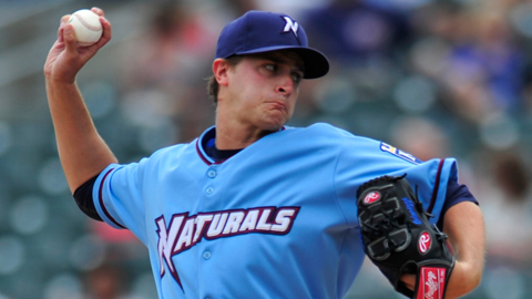 Jake Odorizzi is third in the Texas League with 40 strikeouts.