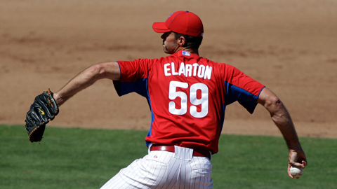 36-year-old Scott Elarton has revived his dormant career with Lehigh Valley.