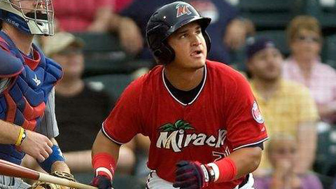 Oswaldo Arcia is averaging .395 with eight RBIs over nine games in May.