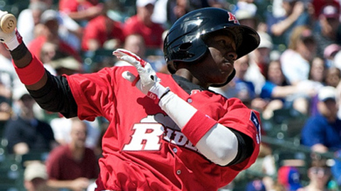 Jurickson Profar is tied for third in the Texas League with 61 hits.