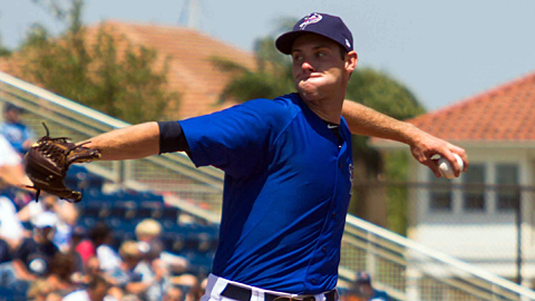 Pensacola's Tony Cingrani needed just 100 pitches to strike out 15 batters.