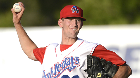David Fischer has struck out eight batters over 11 Minor League innings.
