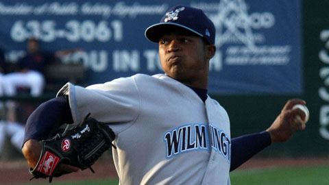 Noel Arguelles owned a 4-5 record for Class A Wilmington in 2011.