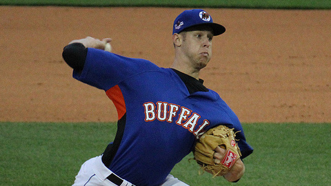 Zack Wheeler is 10-6 with a 3.20 ERA in 21 starts across two levels this season.