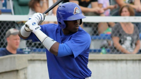 Jorge Soler has picked up hits in five of the six games he's played for Peoria.